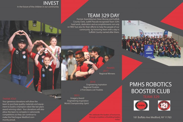 PHMS Boosters Club Brochure